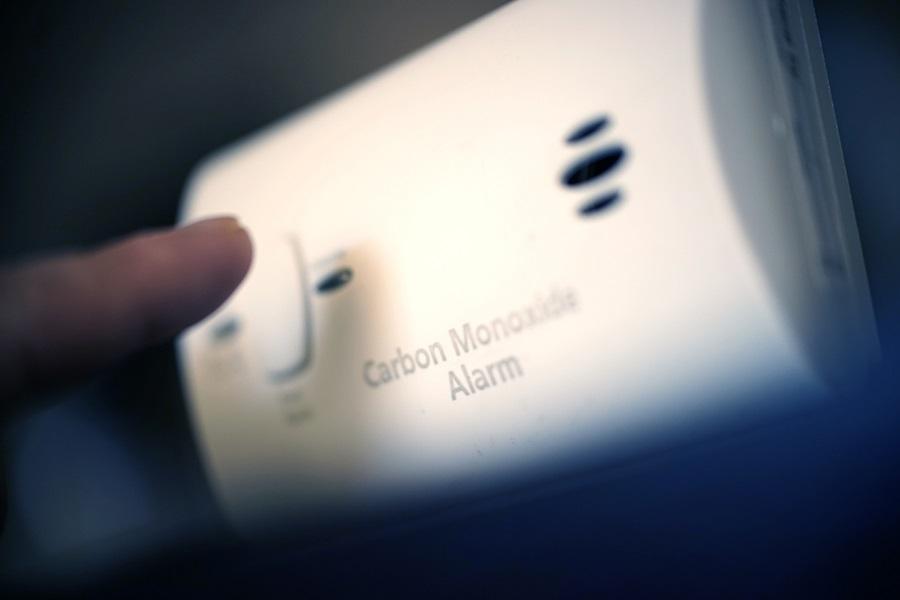 shot of a carbon monoxide