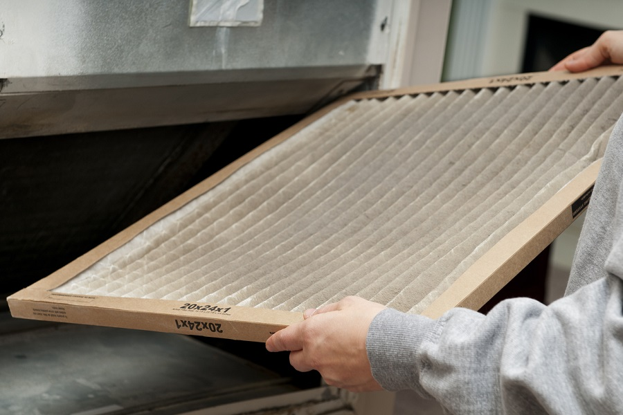 New furnace filter
